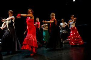 Letna predstava Flamenko, Mini Teater., junij 2012 Foto darja Štravs Tisu